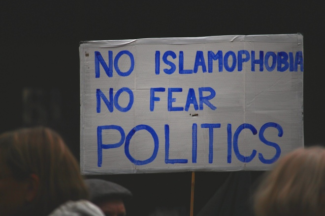 no islamophobia